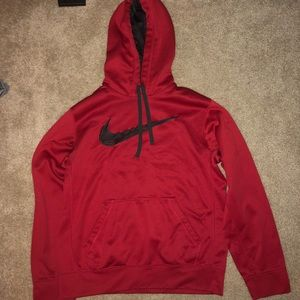 Red Nike Sweatshirt